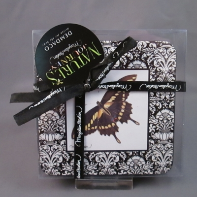 Butterfly Coasters (set of 6 assorted)